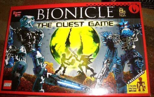BIONICLE THE QUEST GAME BY LEGO --UNUSED