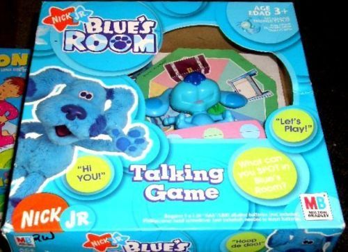 BLUE'S ROOM TALKING ELECTRONIC GAME