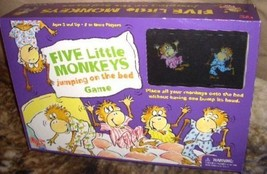 FIVE LITTLE MONKEYS JUMPIN ON THE BED GAME - $24.00