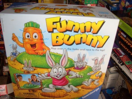 FUNNY BUNNY GAME BY RAVENSBURGER
