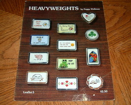 Heavyweights Stitching Craft Book - $3.00