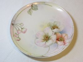 Prussia Royal Ruoolstadt Decorative plate with poppies flower art collec... - $10.68