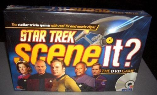 STAR TREK SCENE IT DVD GAME SEALED