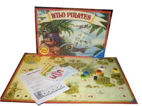 WILD PIRATES RAVENSBURGER BOARD GAME--COMPLETE-HTF
