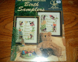 The Heritage Collection Birth Samplers Jeanette Crews - $5.00