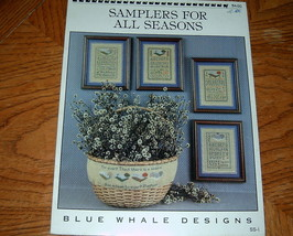 Samplers For All Seasons Cross Stitch Designs - $5.00