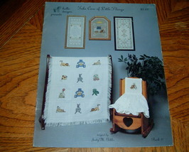 Take Care of Little Things Nursery Cross Stitch Designs - $5.00