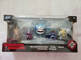 Jada Toys Nano METALFIGS Dungeons & Dragons Medium Pack, Die-Cast Collec... - $19.76