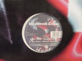 Mastermix Clique Get Down LP Record Album Vinyl - $4.94