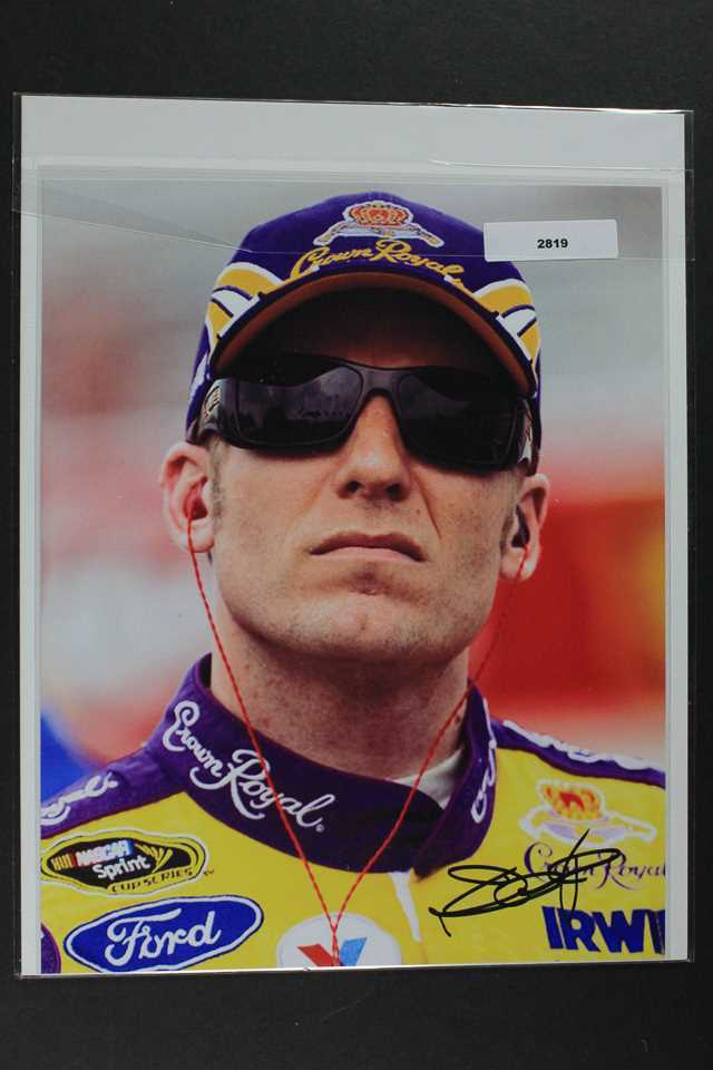 Primary image for Jamie McMurray Signed Autographed NASCAR Color 8x10 Photo