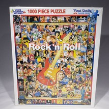 White Mountain Rock n Roll Icons Jigsaw Puzzle 1000 Piece #4095 24x30 US... - $24.95