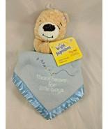 Bright Inspirations Prayer Bear Friends Lovey Security Blanket Kids II T... - $7.15