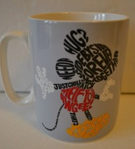 Disney Mickey and Minnie Mouse Favorite Words Mug by Enesco 14 oz - NEW - $14.78