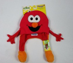New  Flipeez ELMO Sesame Street Action Hat As Seen On TV Squeeze & They ... - $14.51