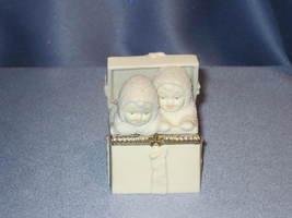 """Snowbabies """"Surprise"""" Hinged Trinket Box. - $14.00"""