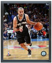 """Tony Parker 2013-2014 Spurs - 11"""" x 14"""" Photo in a Glassless Sports Frame - $32.99"""