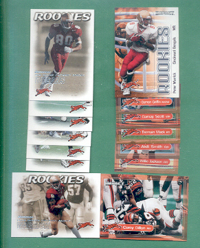 2000 Dominion Cincinnati Bengals Football Set