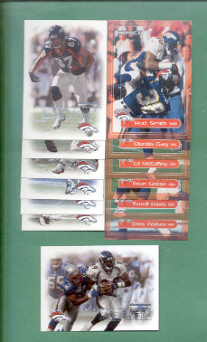 2000 Dominion Denver Broncos Football Team Set