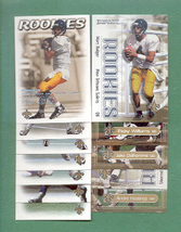 2000 Dominion New Orleans Saints Football Team Set  - $4.00