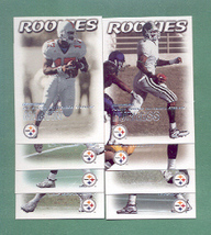 2000 Dominion Pittsburgh Steelers Football Team Set  - $3.00