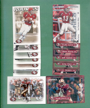 2000 Dominion San Francisco 49ers Football Team Set