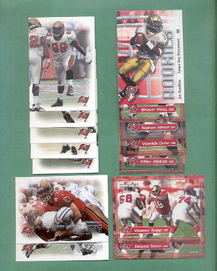 2000 Dominion Tampa Bay Buccaneers Football Team Set