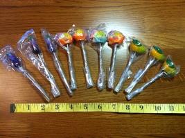 Cute Asian Made Fruit Fork Set #2 of 10 Forks Fish & Fruits! - $15.00