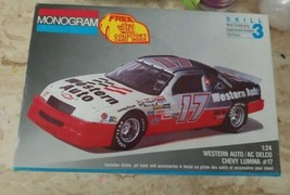 1991 DARRELL WALTRIP  #17 WESTERN AUTO CHEVROLET LUMINA MONOGRAM Model K... - $9.86