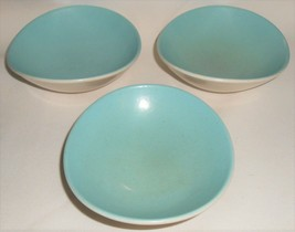 Mid Century SET (3) Metlox DEL REY PATTERN Berry or Fruit Bowls CALIFORNIA - $23.75
