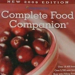 Complete Food Companion: 2009 Edition (Weight Watchers) [Paperback] [Jan 01, 200