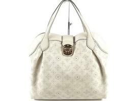 Louis Vuitton seal scan MM M93078 Mahina run tote bag Auth - $1,245.11