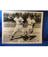 PHIL RIZZUTO TONY KUBEK YANKEES SS 2ND COMBO SIGNED 8X10 PSA - $199.99
