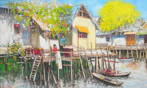 Houses on stilts   lam manh