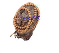 Free Shipping -  Tibetan Buddhism Real Natural yellow  sandalwood meditation yog - $19.99