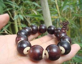 Free Shipping - good luck Tibetan Buddhism Real Natural Red sandalwood meditatio - $22.00