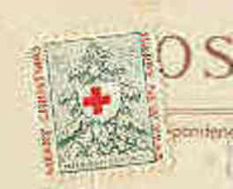 American Red Cross 1917 Christmas Seal Used - $7.00