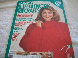 McCall's Needlework & Crafts October 1986 Magazine - $5.00