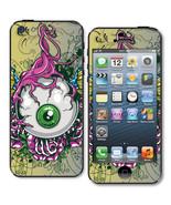 "☆ Eye Phone"" Scary Eyeball Skin Sticker Decal iPhone 5 High Q.-Back & Front - $5.49"