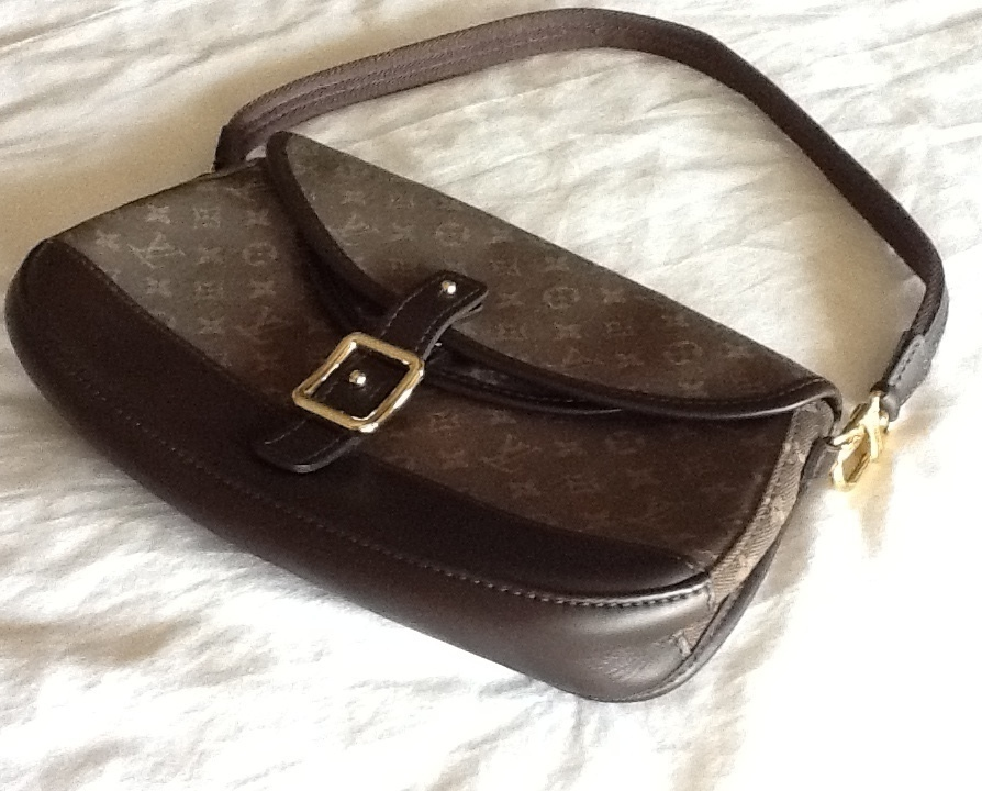 Primary image for Authentic Louis Vuitton Monogram Mini Marjorie Handbag with Shoulder Strap