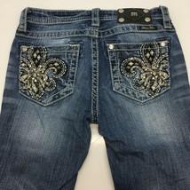 Miss Me Women's Detailed Back Pockets Skinny Jeans JK5581S Color: Blue S... - $49.49