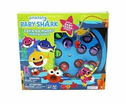 Baby Shark Let's Go Hunt Fishing Game With Baby Shark Song New Pinkfong - $18.09