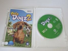 NINTENDO WII VIDEO GAME--PETZ DOGZ 2- DISC MANUAL CASE - $4.85