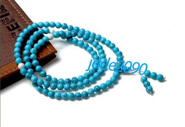 FREE SHIPPING - Natural Turquoise Meditation yoga 108 prayer beads mala ... - $25.99