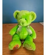 """Russ Berrie Sagittarius Green Zodiac Teddy Bear doll 10"""" plush bean bag  - $16.78"""
