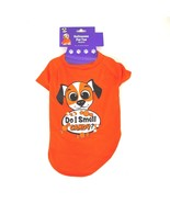 Dog Clothes T Shirt Tee Do I Smell Candy Corn Medium Halloween Pets Clot... - $11.29