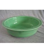 Vintage Fiestaware Original Green Nappy Serving Bowl Fiesta - $42.40