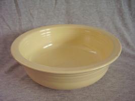 Vintage Fiestaware Ivory Nappy Serving Bowl Fiesta - $50.40