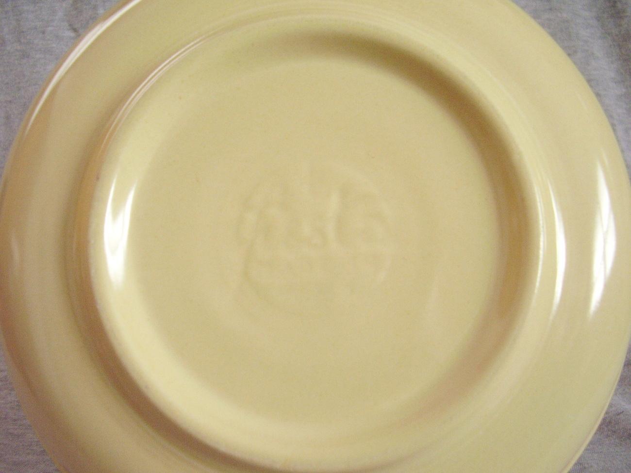 Vintage Fiestaware Ivory Nappy Serving Bowl Fiesta