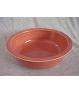 Vintage Fiestaware Rose Nappy Serving Bowl Fiesta - $49.60