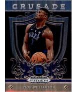 Zion Williamson 2019-20 Panini Prizm Draft Picks Crusade Rookie Card #51 - $6.00